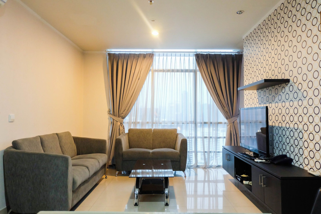 Spacious 3BR Apartment at Sahid Sudirman Residence, Central Jakarta