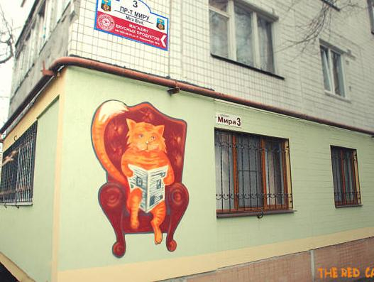 The Red Cat Hostel, Donets'ka
