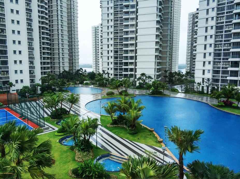 WI-FI#big pool&Seaview# @COUNTRY GARDEN DANGA BAY, Johor Bahru