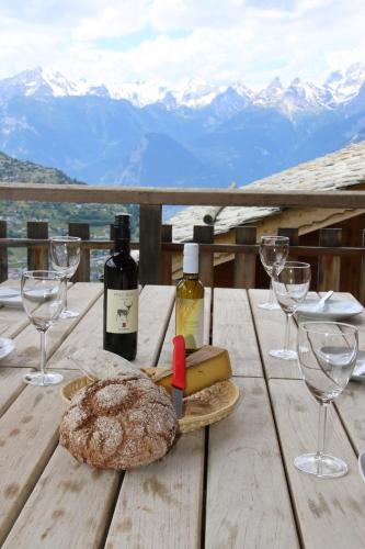 Krystyna MOUNTAIN & AUTHENTIC chalet 10 pers, Sion
