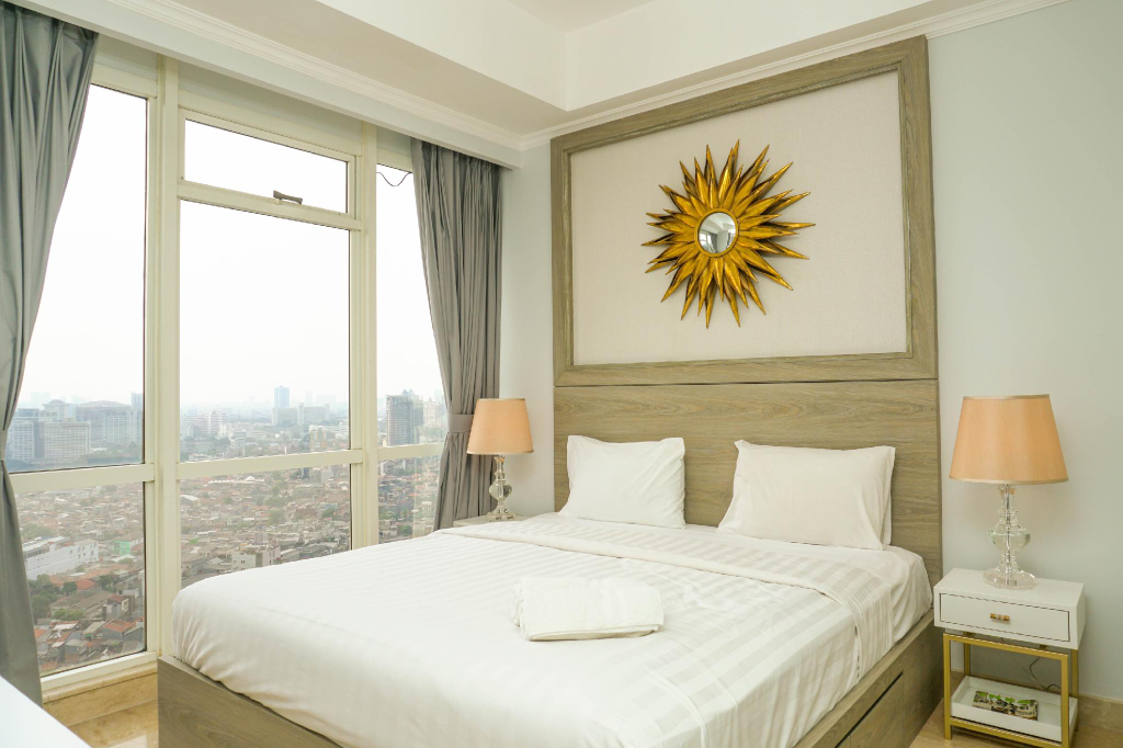Luxurious 2BR with Private Lift at Menteng Park Apartment, Jakarta Pusat