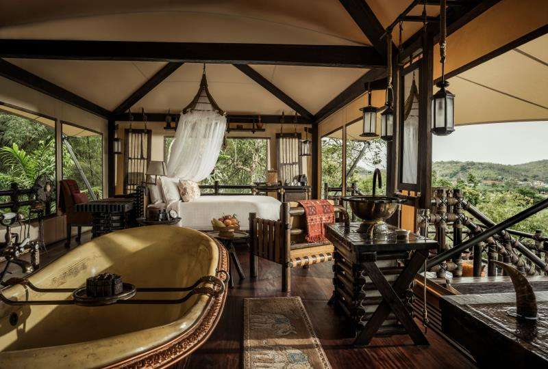 Four Seasons Tented Camp Golden Triangle, Chiang Saen