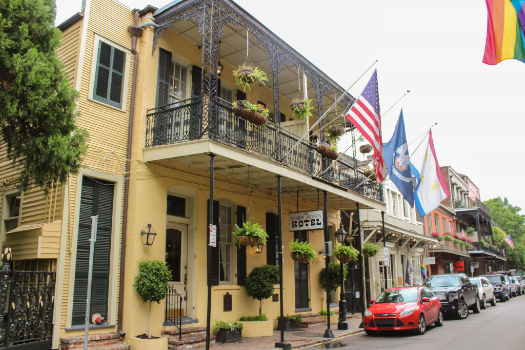 Andrew Jackson, Orleans