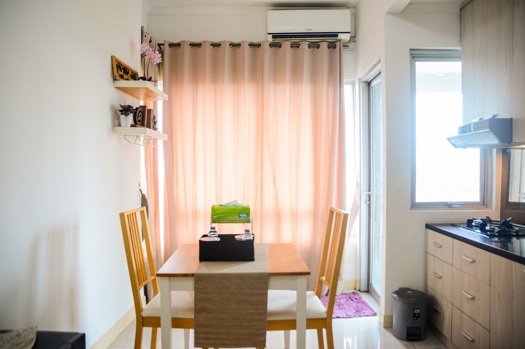 Comfy 2BR Sudirman Park Apartment at Central Area, Central Jakarta