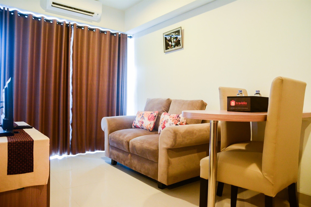 Cozy 1BR H Residence Apartment near MT Haryono, East Jakarta