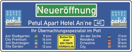 Petul Apart Hotel An'ne 40, Bochum