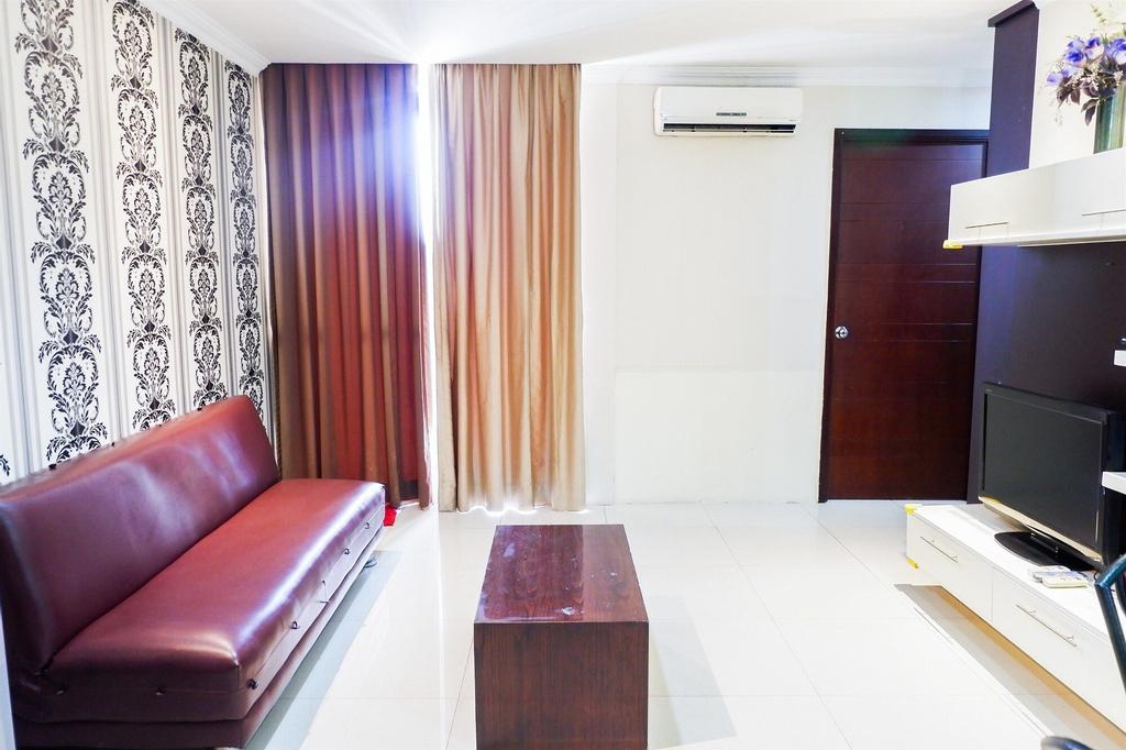 2BR Mangga Dua Apartment with City View, Jakarta Pusat