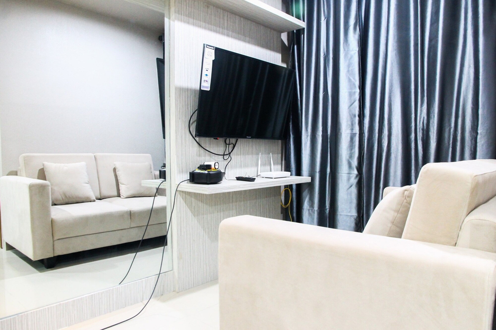 Immense 1BR at The Oasis Apartment, Cikarang