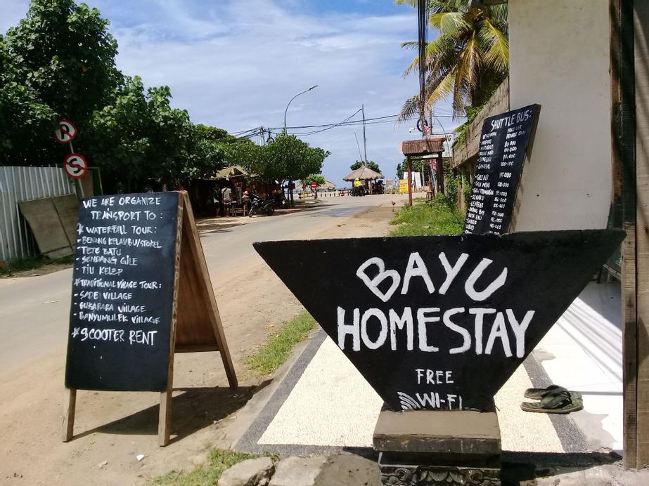 Bayu Homestay, Lombok Tengah