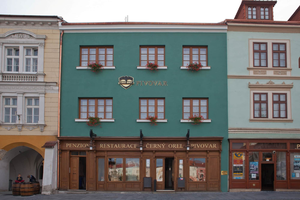Hotel & Pivovar CERNÝ OREL, Kroměříž
