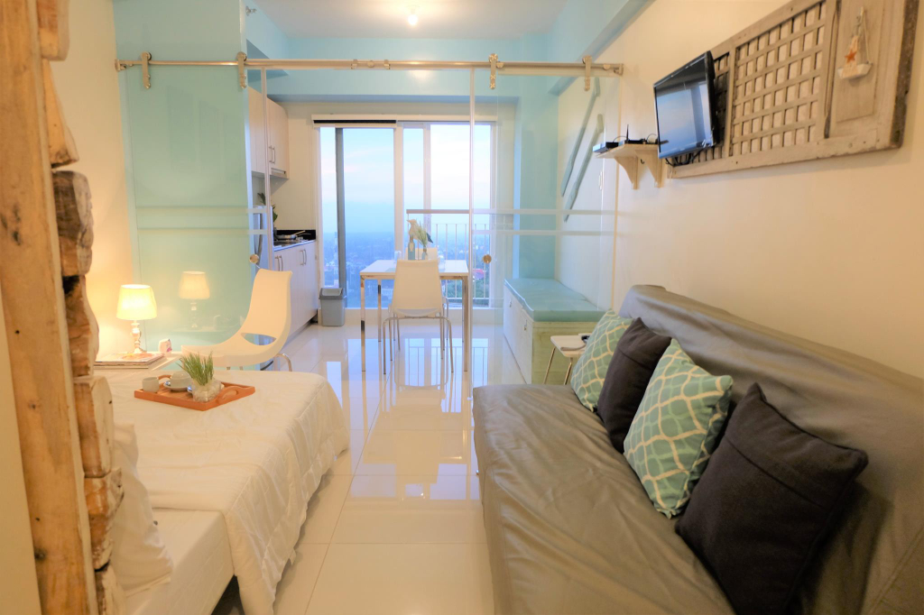 Relaxing Coastal BR w/ WiFi+UV Lamp+Air Purifier 1, Tagaytay City