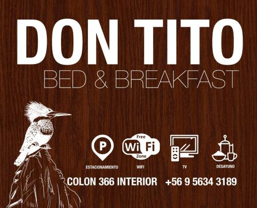 Bed and Breakfast Don Tito, Coihaique