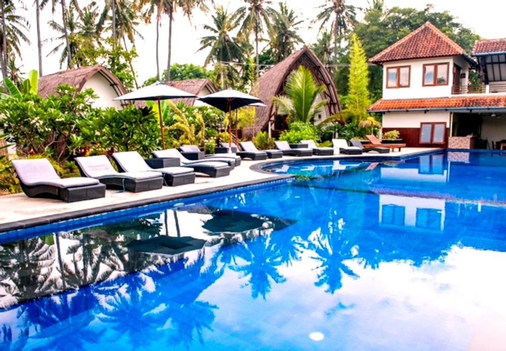 Oceans 5 dive resort, Kepulauan Gili