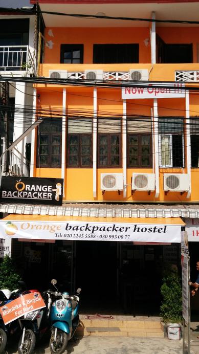 Orange Backpacker Hostel, Chanthabuly