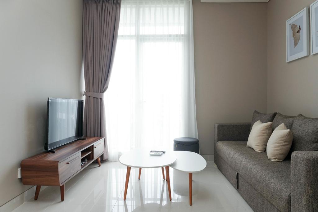 Lavish 1BR at Ciputra International Apartment By Travelio, Jakarta Barat