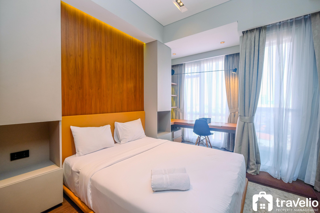 Exclusive and Modern Studio at Menteng Park Apartment By Travelio, Jakarta Pusat