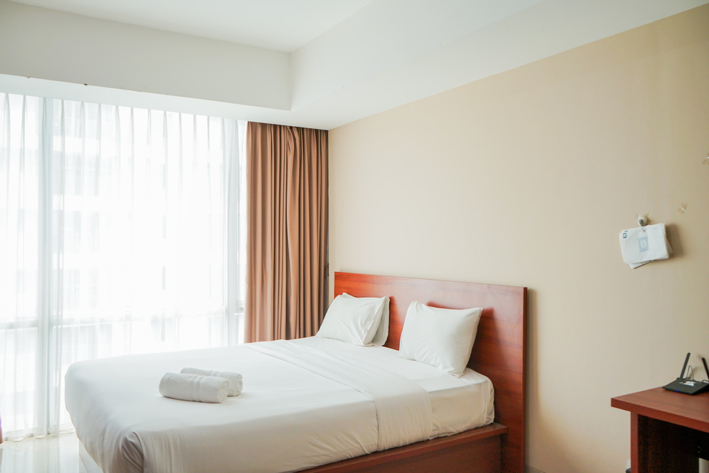 Comfy and Stylish Studio Apartment at U Residence By Travelio, Tangerang