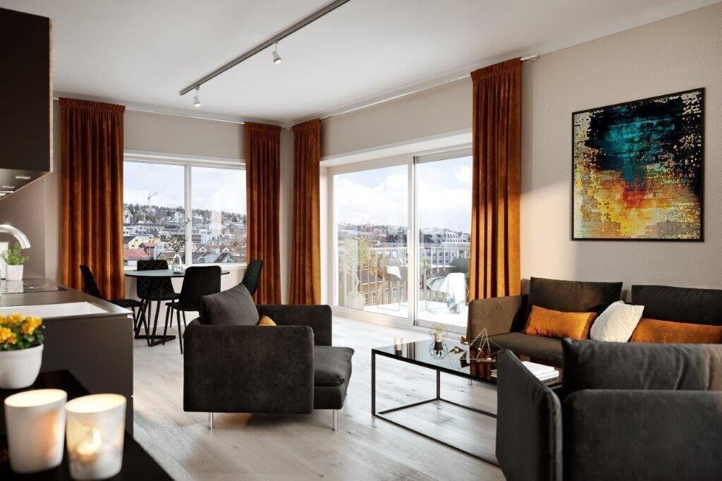 Luxury downtown apartments ap 201, Tromsø