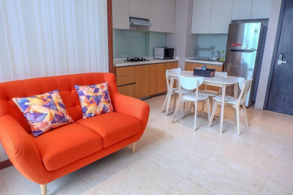 Exclusive Design Satu8 Apartment Near Puri, Jakarta Barat