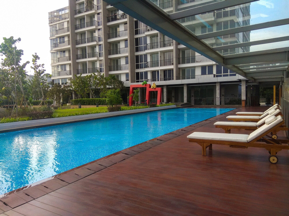Luxurious and Clean 2BR Lexington Residence Apartment, South Jakarta