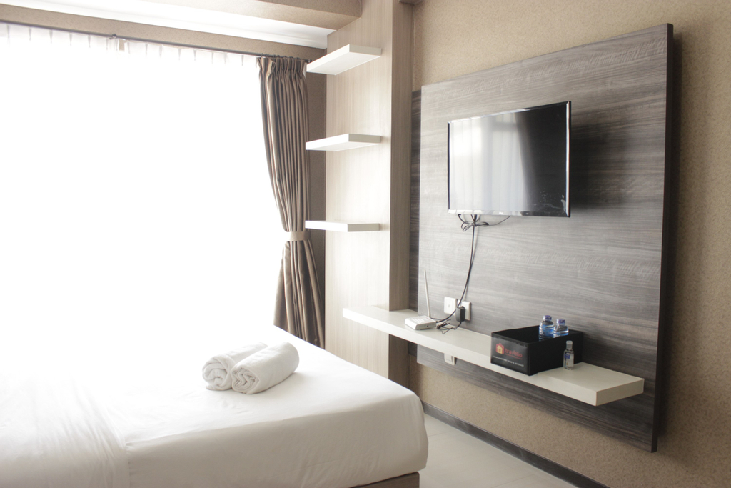 Relaxing Studio Room at Gateway Pasteur Apartment By Travelio, Cimahi