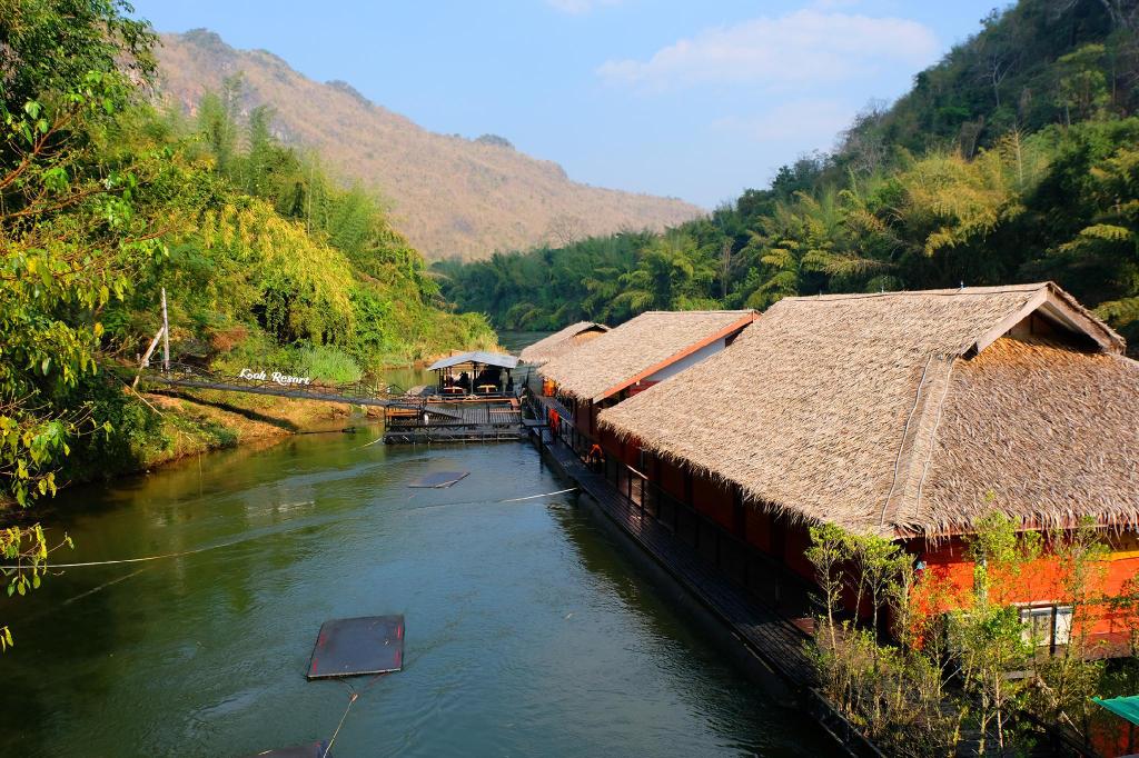 Koh Mueangkarn Paradise View Resort, Sai Yok