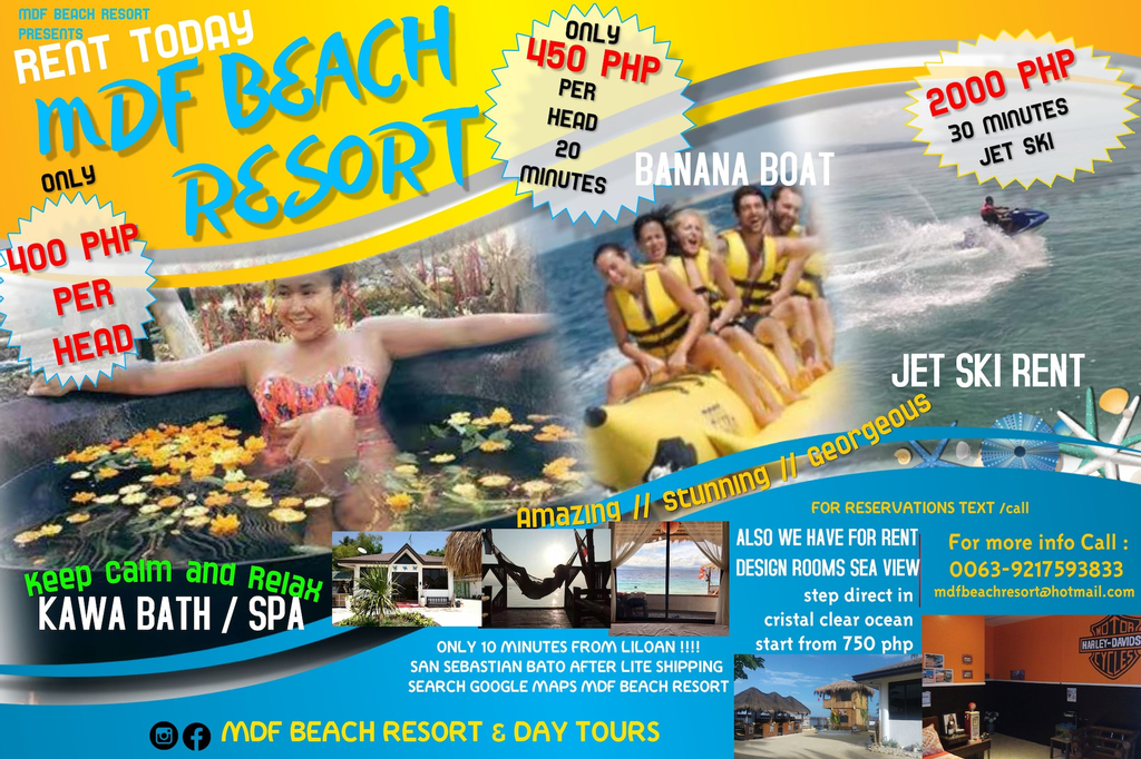 MDF Beach Resort And Day Tours, Samboan