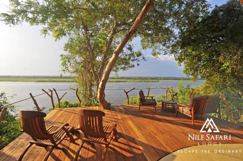 Nile Safari Lodge, Kibanda