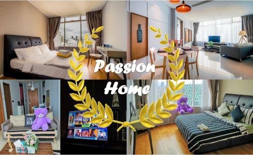 Passion Home: Beautiful High Floor KLCC view, Kuala Lumpur