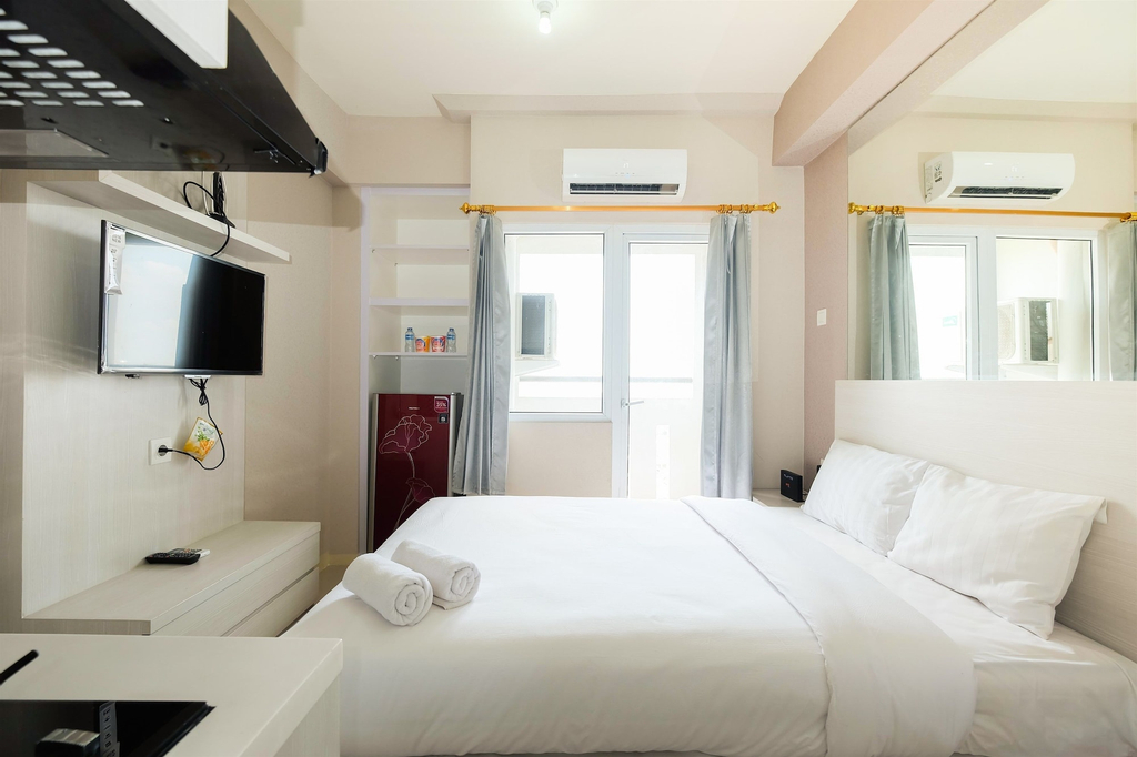 Studio at Green Pramuka City Serene Apartment Living By Travelio, Central Jakarta
