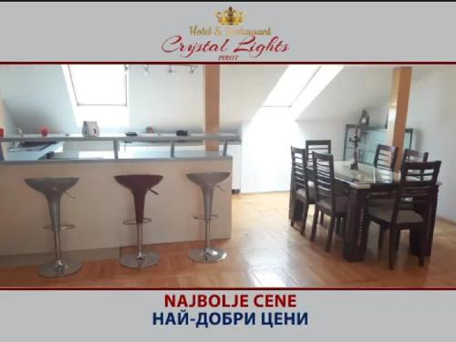 Bed and breakfast Crystal Lights, Pirot