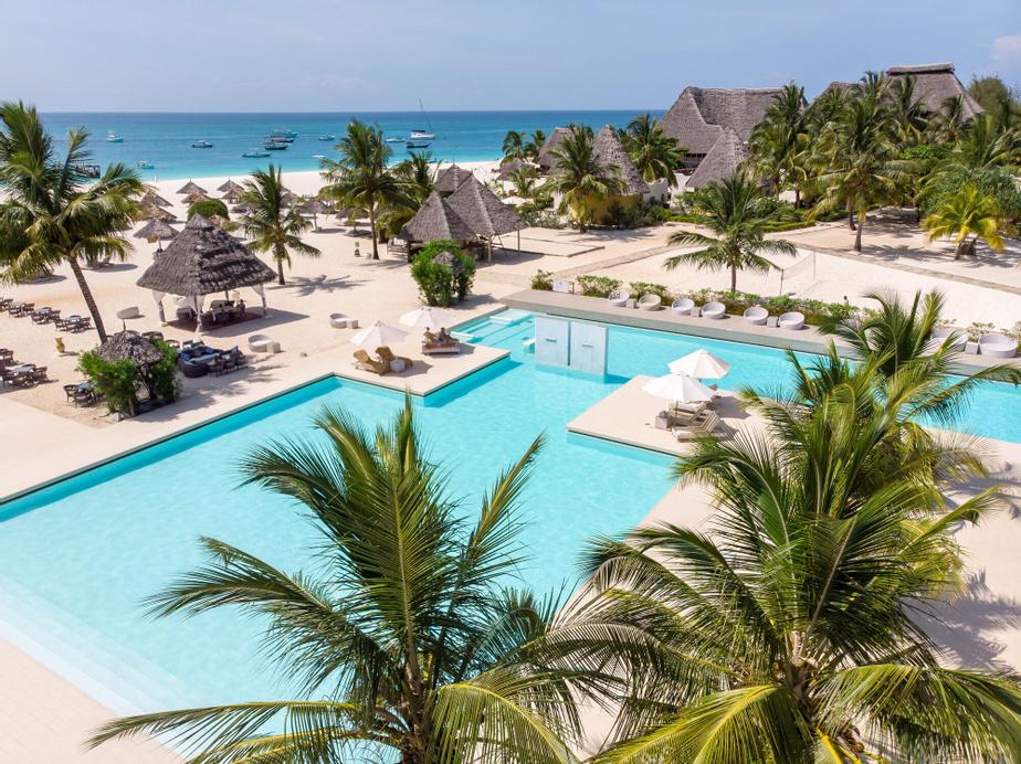 Gold Zanzibar Beach House & Spa, Kaskazini 'A'