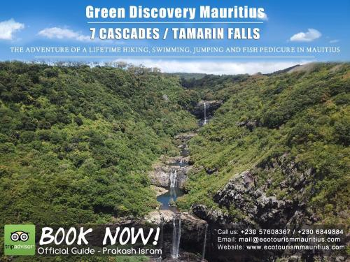 Green Discovery B&B Tamarind Falls 7 Cascades,