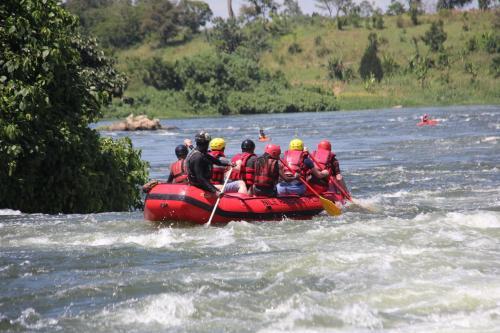 Rafting River Nile House Jinja, Kagoma