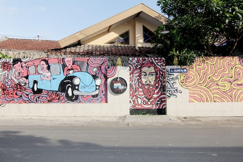 De Oplet Homestay & Gallery, Yogyakarta
