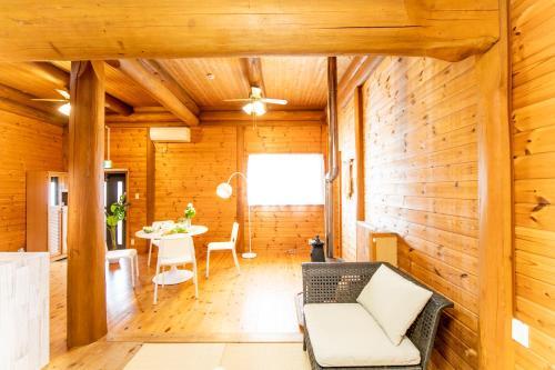 Awaji Seaside Log House, Awaji