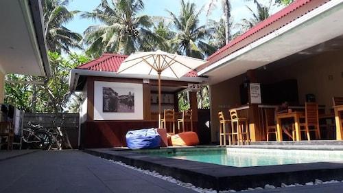 Bale datu bungalow, Kepulauan Gili