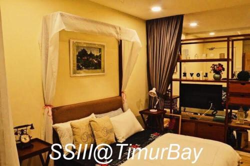 SSIII TimurBay Seafront Residence cw WiFi Sofa bed, Kuantan