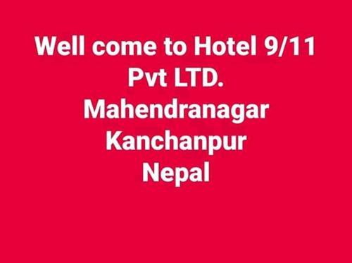 Hotel 9/11 Pvt Ltd, Mahakali