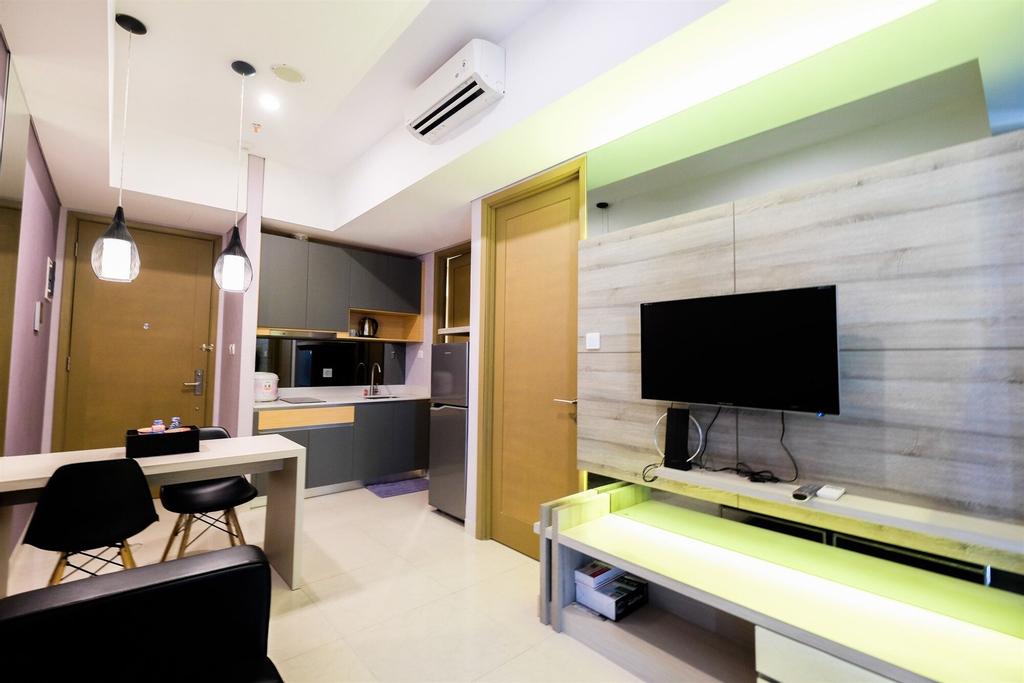 Luxury 1BR Apartment Taman Anggrek Residence, West Jakarta