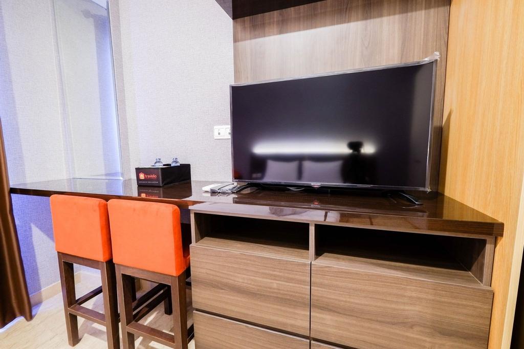 Luxurious Studio Room At Menteng Park Apartment by Travelio, Jakarta Pusat