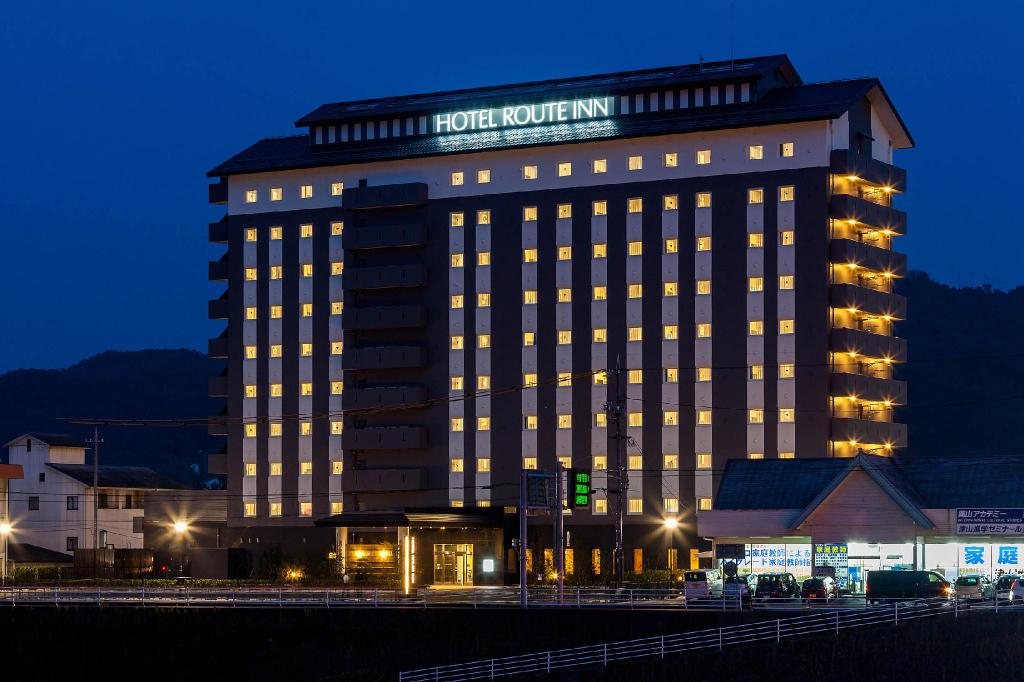 Hotel Route Inn Tsuyama Ekimae, Tsuyama