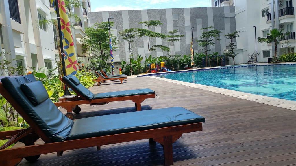Comfortable Studio at Signature Park Grande Apartment, South Jakarta