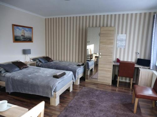 Business-Apartment mit Balkon, Dortmund