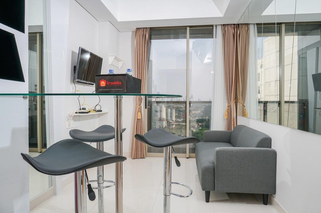 Modern 2BR Apartment at Taman Anggrek Residence, West Jakarta