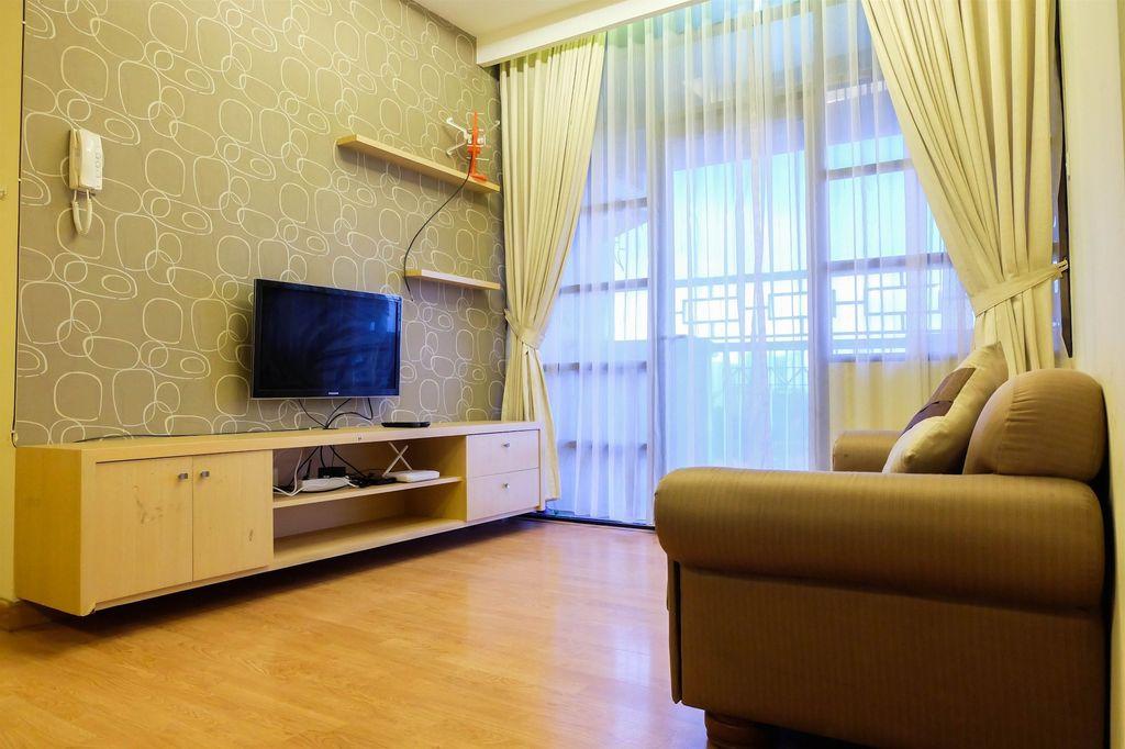 Cozy 2BR Salemba Residence Apartment, Jakarta Pusat