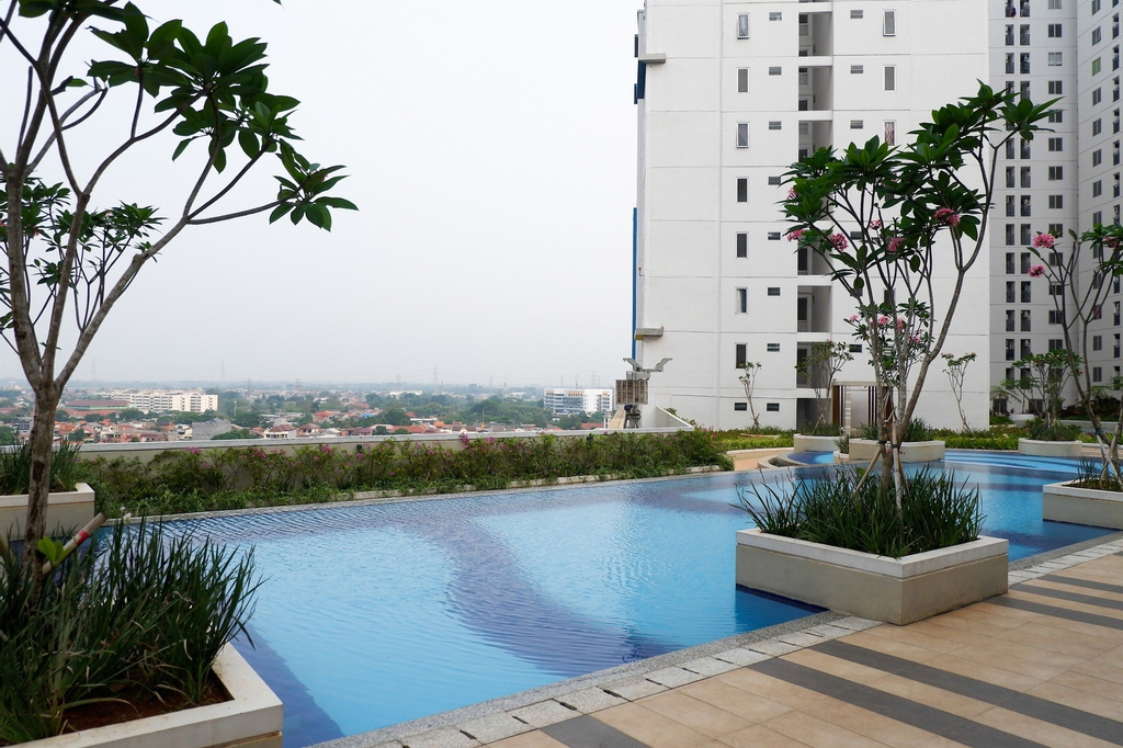 Spacious and Clean 3BR Bassura Apartment, East Jakarta
