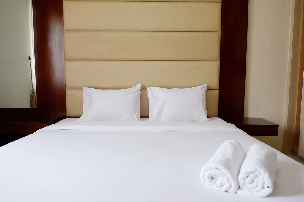 2BR Apartment with City View at Mediterania Marina Residences, North Jakarta