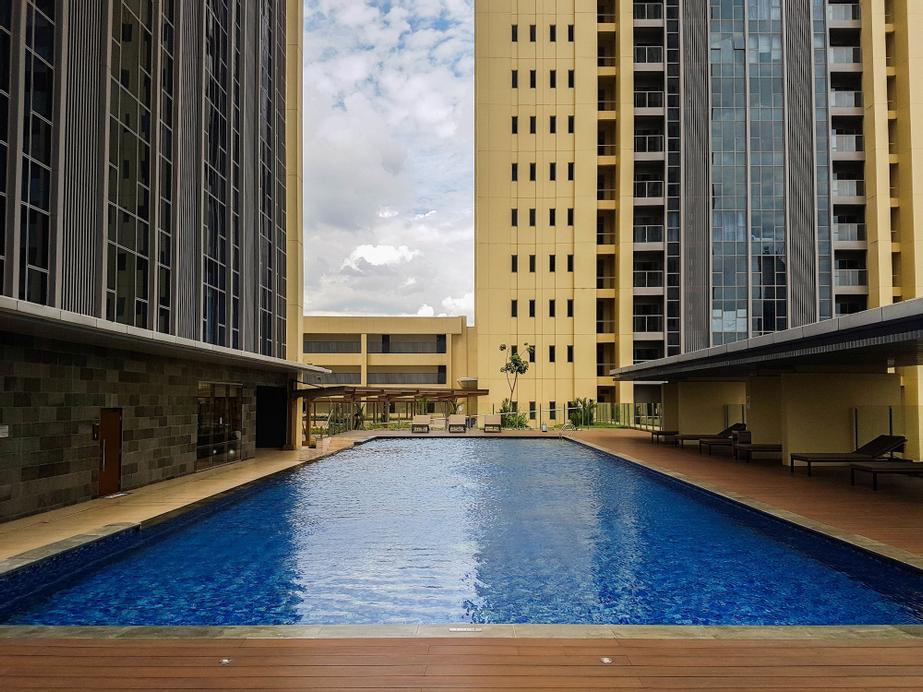Elegant 1BR Branz BSD Apartment near AEON Mall, Tangerang
