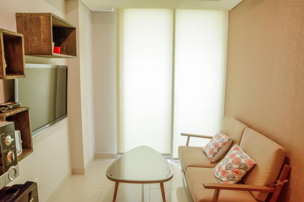 2BR Apartment with Twin Beds at Taman Anggrek Residences, West Jakarta